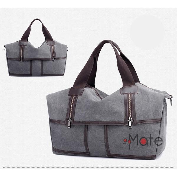 旅行カバン 大容量 ボストンバッグ キャンバストートバッグ ママバッグ マザーズバッグ 帆布 斜めがけ 鞄 カバン|99mate|17