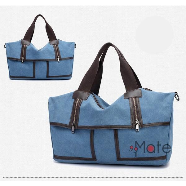 旅行カバン 大容量 ボストンバッグ キャンバストートバッグ ママバッグ マザーズバッグ 帆布 斜めがけ 鞄 カバン|99mate|18