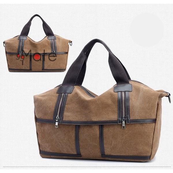 旅行カバン 大容量 ボストンバッグ キャンバストートバッグ ママバッグ マザーズバッグ 帆布 斜めがけ 鞄 カバン|99mate|20