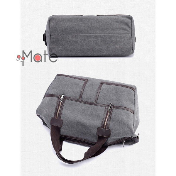 旅行カバン 大容量 ボストンバッグ キャンバストートバッグ ママバッグ マザーズバッグ 帆布 斜めがけ 鞄 カバン|99mate|05