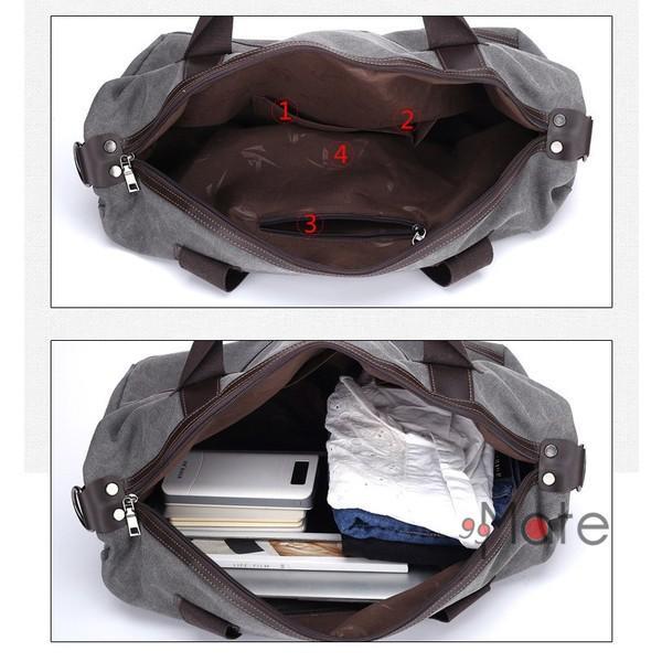 旅行カバン 大容量 ボストンバッグ キャンバストートバッグ ママバッグ マザーズバッグ 帆布 斜めがけ 鞄 カバン|99mate|06