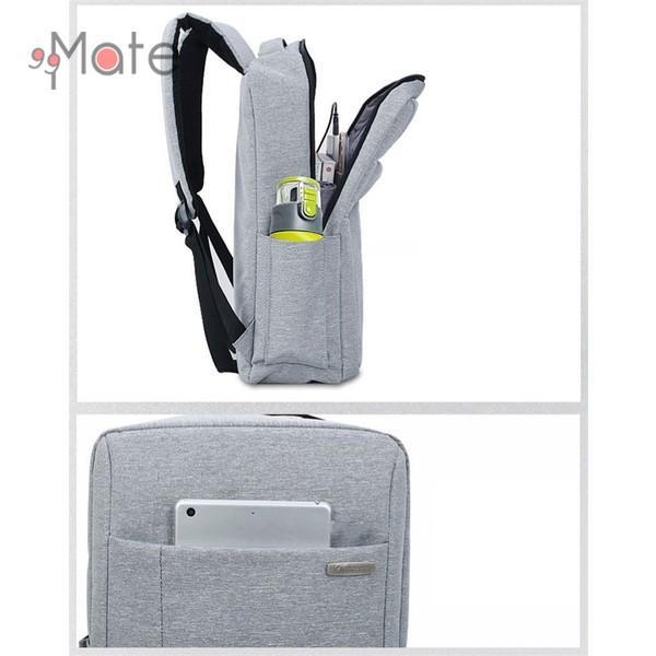 パソコンバッグ メンズ ビジネスリュック 多機能バックバッグ 収納 PC リュックサック ビジネスバッグ 書類 A4 撥水|99mate|15