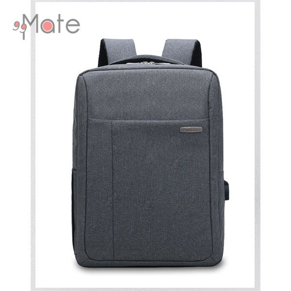 パソコンバッグ メンズ ビジネスリュック 多機能バックバッグ 収納 PC リュックサック ビジネスバッグ 書類 A4 撥水|99mate|09