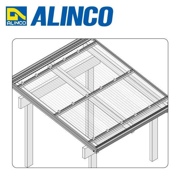 ALINCO/アルインコ 波板用アタッチ 母屋材 2,400mm ブロンズ 品番:BA170B (※条件付き送料無料)|a-alumi|03