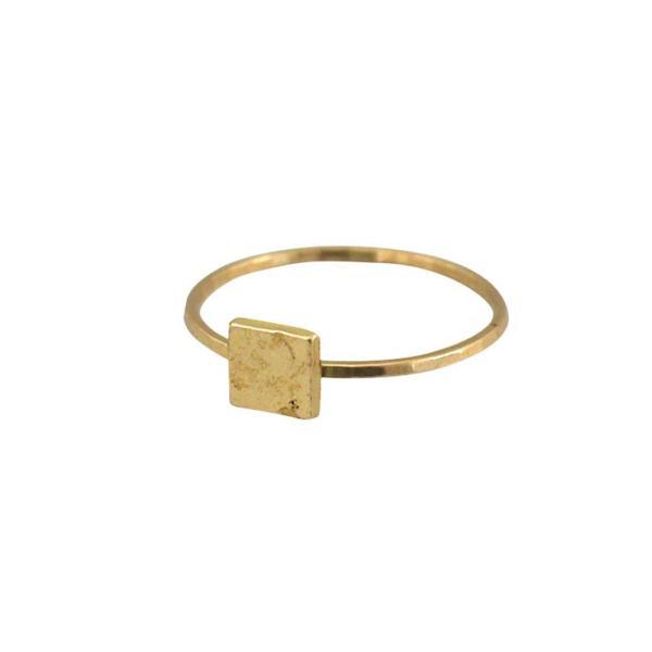 アピカル リング ピン スクエア APICAL ring pin square カジュアルにもモードにもお勧めの指輪|a-depeche|02