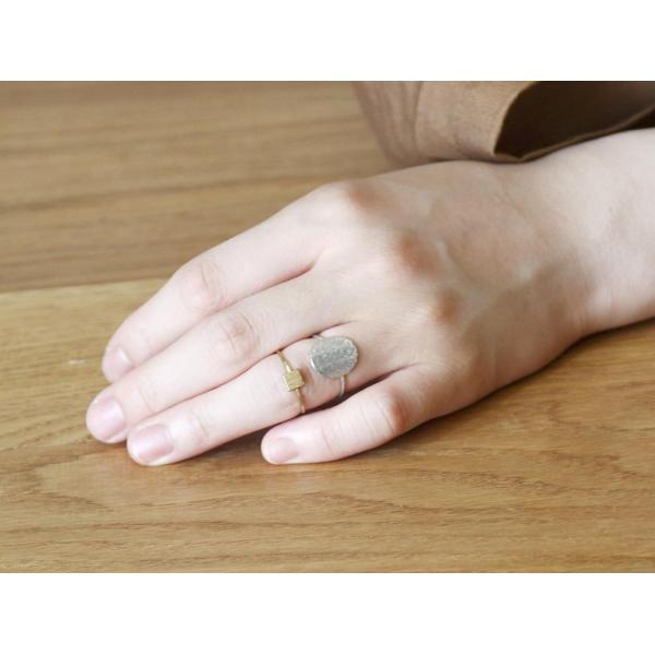 アピカル リング ピン スクエア APICAL ring pin square カジュアルにもモードにもお勧めの指輪|a-depeche|04