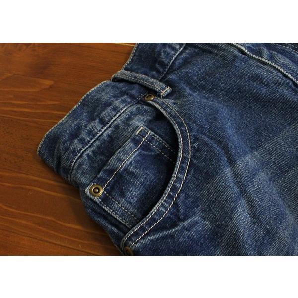 リメイク デニム ロング スカート カジュアルにもモードにも合わせられるスカート|a-depeche|06