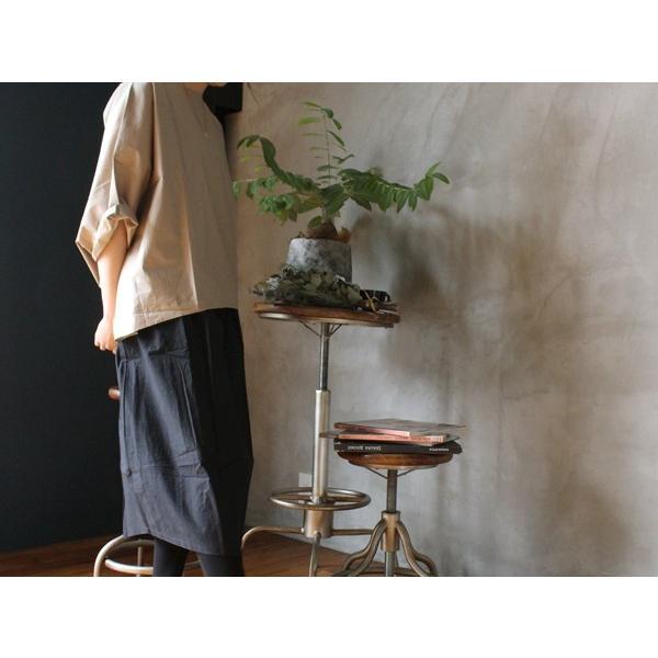 アシンメトリー イージー スカート イレギュラーな裾がユニーク『contra bo ne-pre』|a-depeche|07