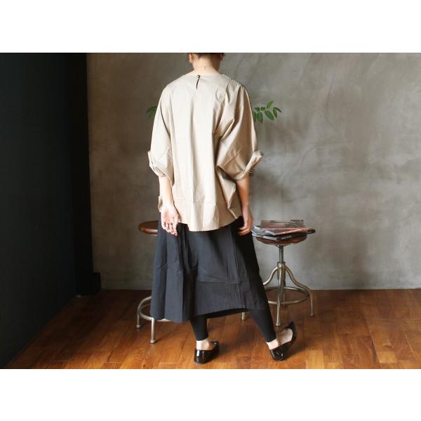 アシンメトリー イージー スカート イレギュラーな裾がユニーク『contra bo ne-pre』|a-depeche|09