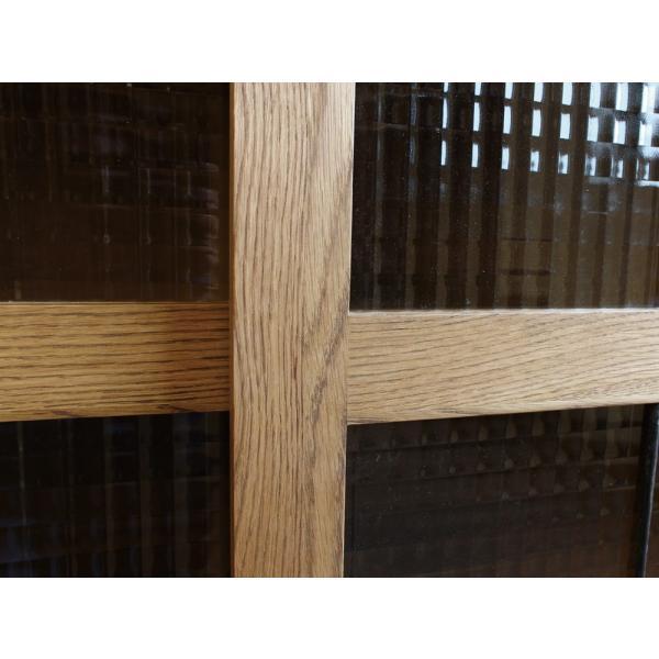 カデル スライドガラスキャビネットロー cadeal slide glass cabinet low|a-depeche|05