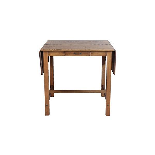 ダイニングテーブル  『コンテ・ライム バタフライテーブル』2人 3人 4人 伸長式 両バタフライ ブラウン おしゃれ 75-125cm ビンテージ感 レトロ アデペシュ a-depeche 02