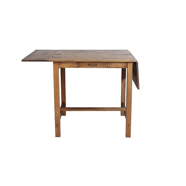 ダイニングテーブル  『コンテ・ライム バタフライテーブル』2人 3人 4人 伸長式 両バタフライ ブラウン おしゃれ 75-125cm ビンテージ感 レトロ アデペシュ a-depeche 03