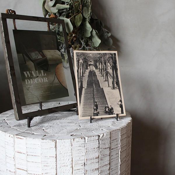 コレクトウッド ラウンドスツール 木製の椅子 花台として、スツールとして、ディスプレイ用として。『送料無料』|a-depeche|08
