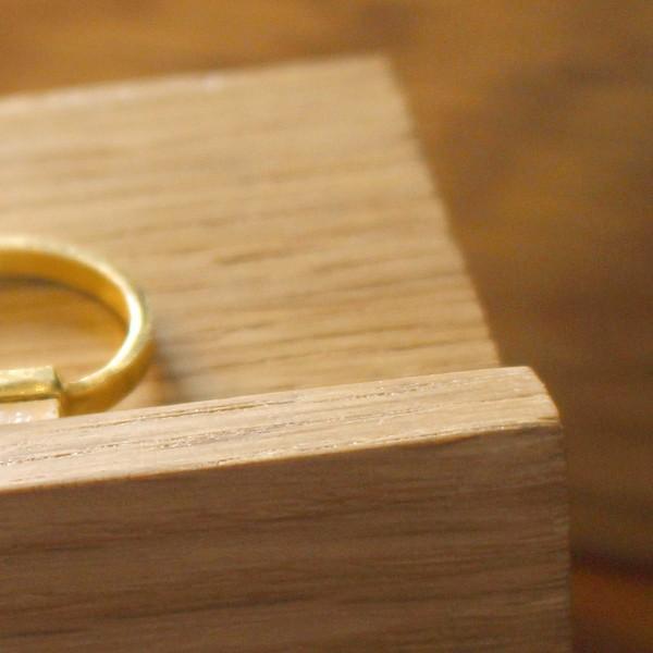 ウッド リング スタンド Sサイズ 『アクセサリー 収納 スタンド 木製 ディスプレイ 店舗 什器 ジュエリー 指輪 ピアス イアリング トレー 』|a-depeche|13