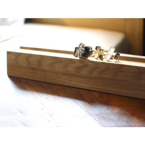 ウッド リング スタンド Mサイズ 『アクセサリー 収納 スタンド 木製 ディスプレイ 店舗 什器 ジュエリー 指輪 ピアス イアリング トレー』|a-depeche|10