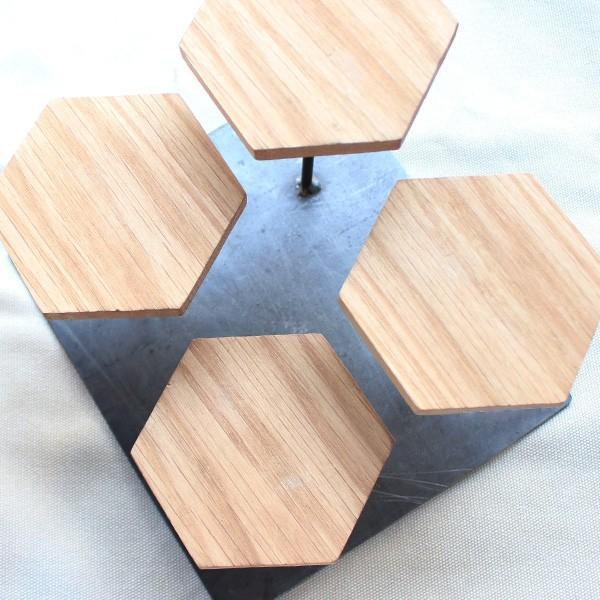 ウッドディスプレイステージ Sサイズ 『アクセサリー 収納 スタンド 木製 ディスプレイ 店舗 什器 ジュエリー 指輪 ピアス イアリング 天然木 無垢材』|a-depeche|11