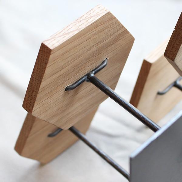 ウッドディスプレイステージ Sサイズ 『アクセサリー 収納 スタンド 木製 ディスプレイ 店舗 什器 ジュエリー 指輪 ピアス イアリング 天然木 無垢材』|a-depeche|13