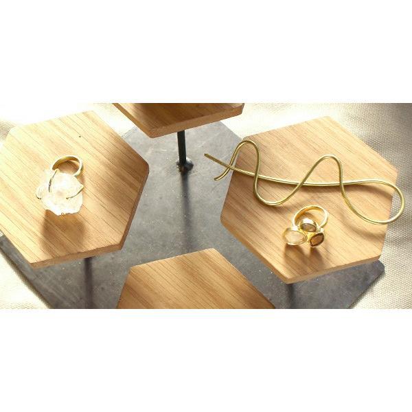 ウッドディスプレイステージ Sサイズ 『アクセサリー 収納 スタンド 木製 ディスプレイ 店舗 什器 ジュエリー 指輪 ピアス イアリング 天然木 無垢材』|a-depeche|07