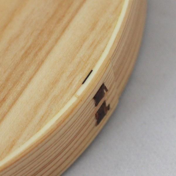 曲げわっぱ 弁当箱 オーバル『女子 大人 一段 おしゃれ 700ml 楕円型 木製 サークル型 ナチュラル 漆塗り ランチボックス 日本製 天然杉 男子 小判型 』|a-depeche|19