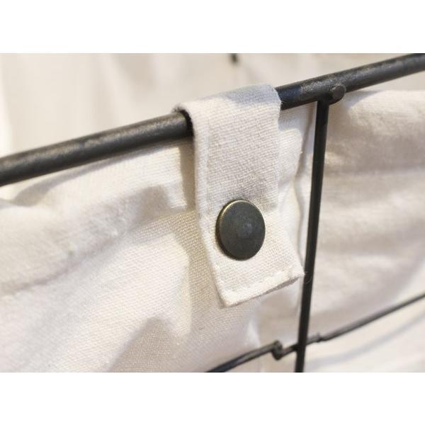 ヘンピング ランドリー カート ハイ hemping laundry cart high かさばる洗濯ものもたっぷりと入るバスケット|a-depeche|05