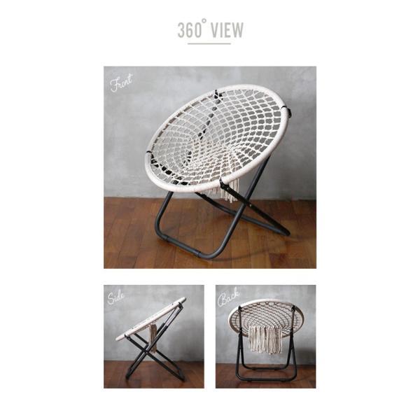 ハンモック チェアー 『ハンモック フォールディング チェア』 室内 アウトドア 椅子 インダストリアル ハンモックチェア カフェ風 折りたたみ|a-depeche|11
