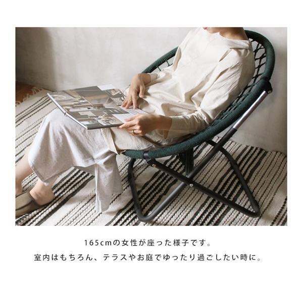 ハンモック チェアー 『ハンモック フォールディング チェア』 室内 アウトドア 椅子 インダストリアル ハンモックチェア カフェ風 折りたたみ|a-depeche|05