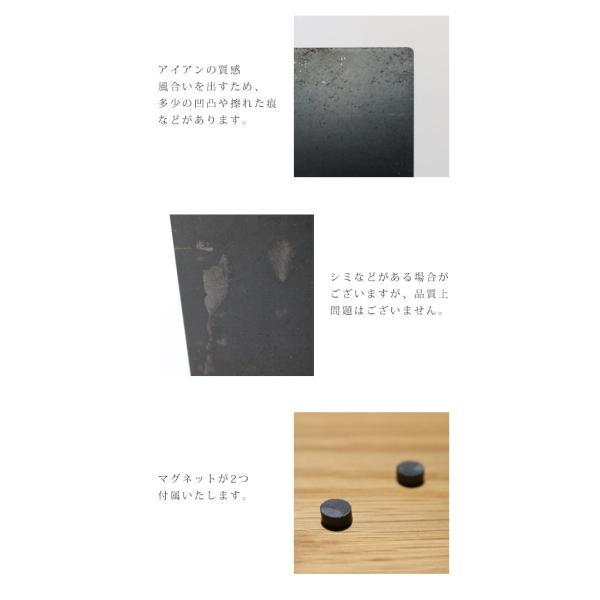 アイアンボードスタンドLサイズ 『アイアン POP  フォト 写真立て ボード スタンド マグネット 店舗 什器 ポストカード ディスプレイ 雑貨 インテリア 』|a-depeche|05