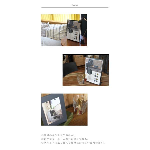 アイアンボードスタンドLサイズ 『アイアン POP  フォト 写真立て ボード スタンド マグネット 店舗 什器 ポストカード ディスプレイ 雑貨 インテリア 』|a-depeche|06