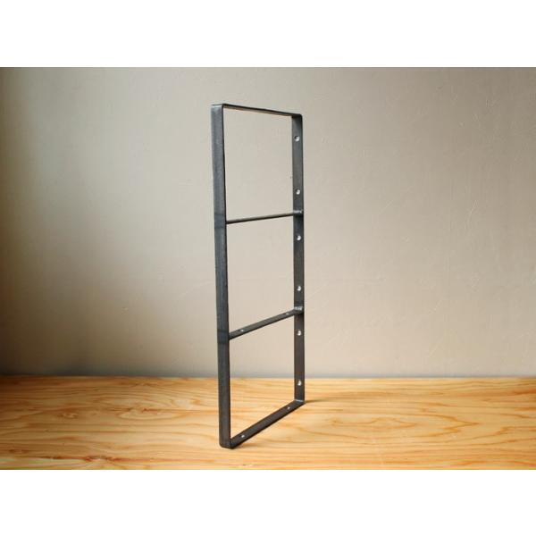 棚受け アイアン ウォールシェルフサポート (L) iron wall shelf support (L)|a-depeche