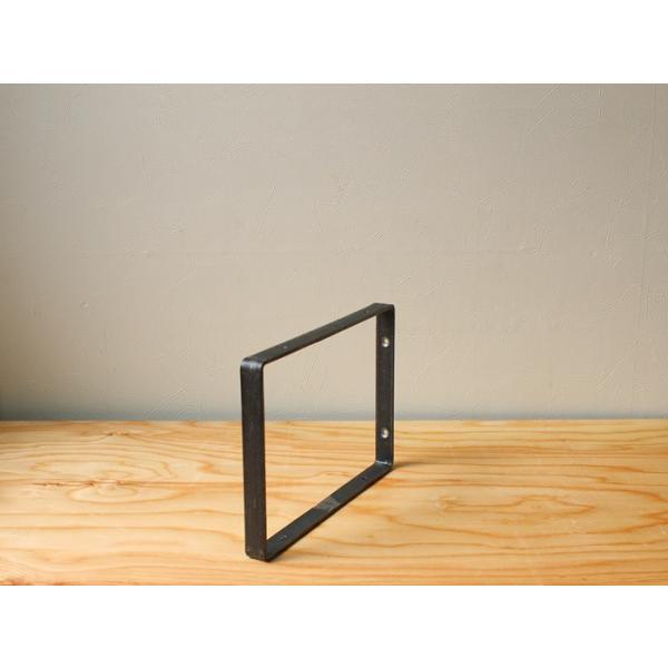 棚受け アイアン ウォールシェルフサポート (S) iron wall shelf support (S)|a-depeche