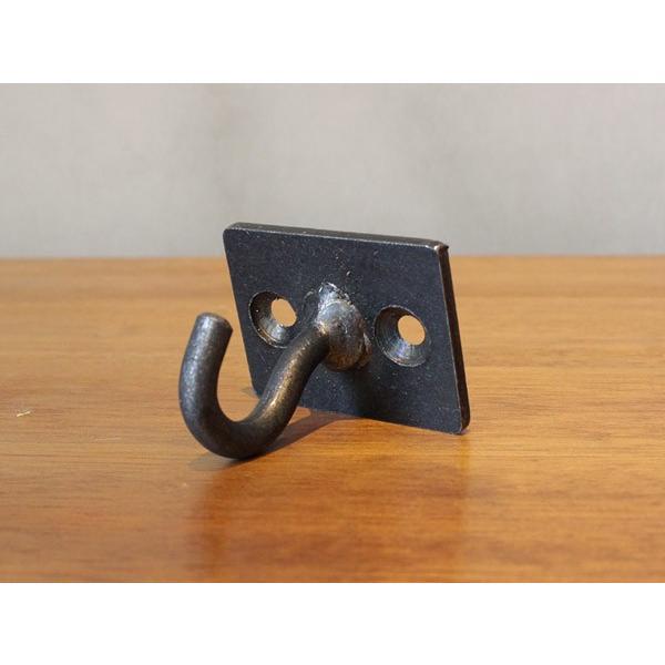 アイアン プレート S フック iron plate S hook 使い易いベーシックな形のフック|a-depeche|02