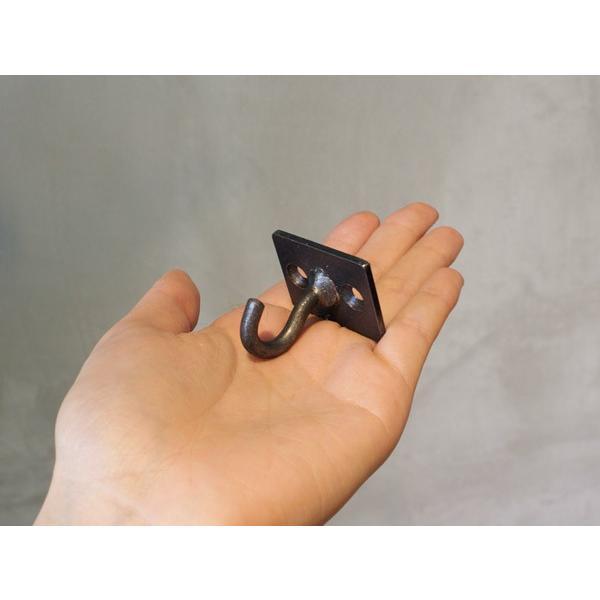 アイアン プレート S フック iron plate S hook 使い易いベーシックな形のフック|a-depeche|04
