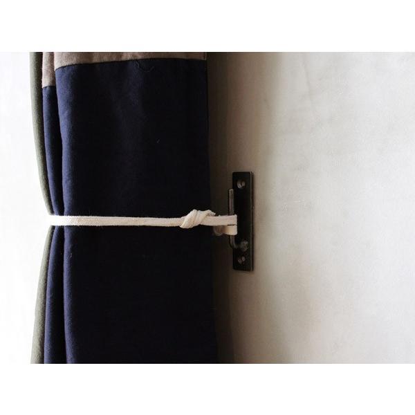 アイアン タッセル フック iron tasselhook アイアンで作られたシンプルなタッセルフック|a-depeche