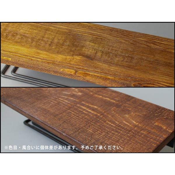 ウッドペーパーホルダー(S) wood paper holder(S) インダストリアルな雰囲気の飾り棚付トイレットペーパーホルダー|a-depeche|05