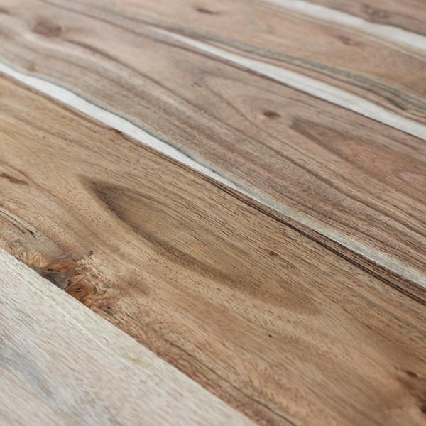 インノーチェ ラウンド カフェ テーブル 『送料無料 木製 80cm アカシア ダイニング スチール 丸 小さい 2人 円 メンズライク インダストリアル 北欧』|a-depeche|15