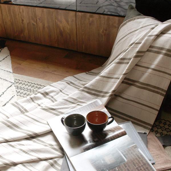 レトリプ コンフォーターケース シングル Letrip comforter case single カラー×ストライプ 欲張りな楽しみ方が見せ所|a-depeche|05