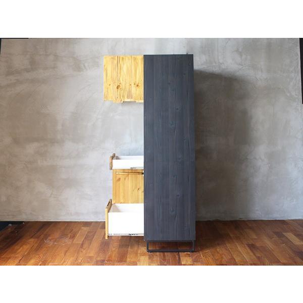 モダージュキッチンボード 800 木の質感が美しいモダンなキッチンボード|a-depeche|03