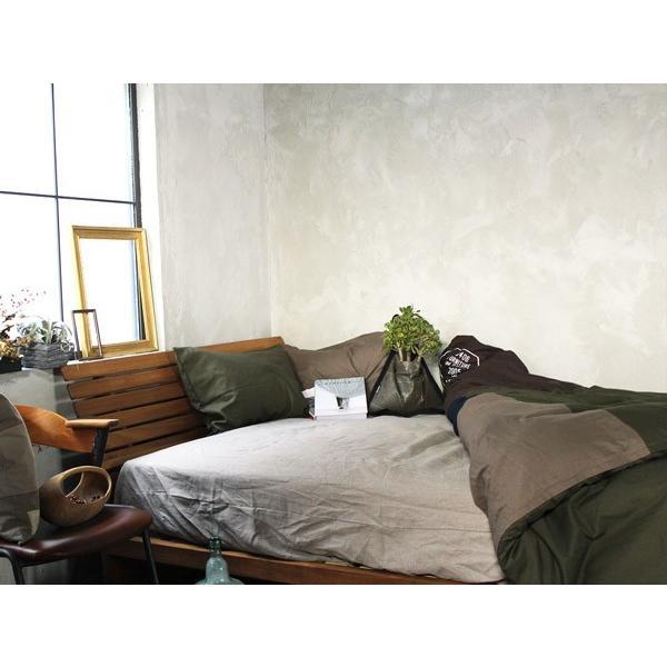 ムノル スリットバック ベッド 『ダブル』 Mnol slit-back bed 『double』 チーク無垢材の風合いを感じながら過ごす 『送料無料』 a-depeche 04