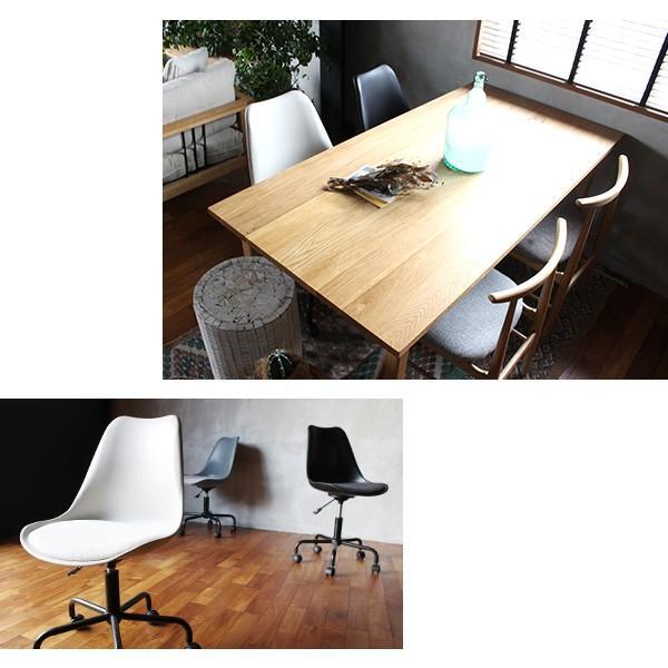 オフィスチェア 北欧 『ノーエフピー キャスター チェア』 キャスター付き 椅子 おしゃれ 高さ調整 事務椅子 FRP 昇降|a-depeche|13