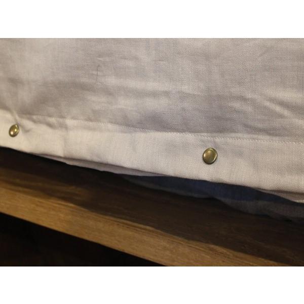 nosque side line comforter case single ノスク サイド ライン コンフォーター ケース シングル 海外のベッドリネンを彷彿とさせるベーシックなシリーズ a-depeche 06