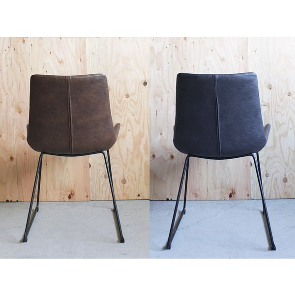 椅子 パニッシュ ウィング チェア PUNISH wing chair インダストリアル ヴィンテージ感のあるすわり心地のよいチェア 椅子『送料無料』|a-depeche|02