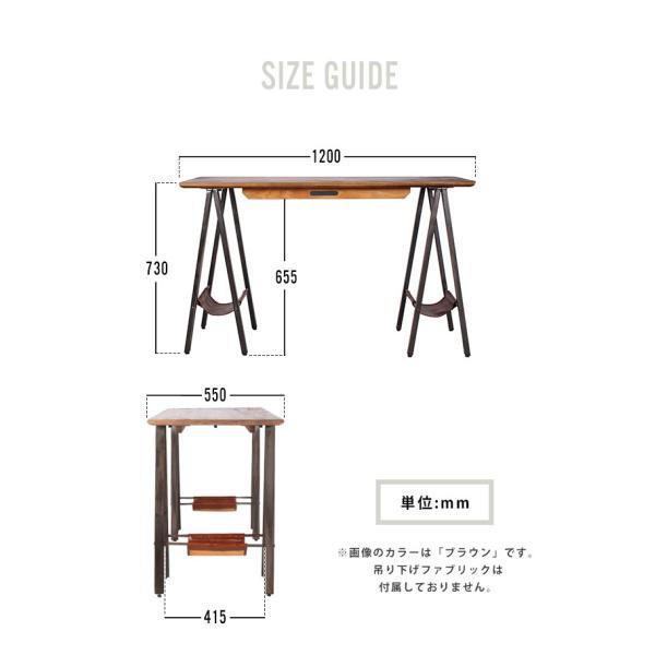 デスク テーブル 『プロック DIY クラフト アート ダイニングテーブル 1200』 机 パソコンデスク 木製 ダイニングテーブル 1人用 2人用|a-depeche|14