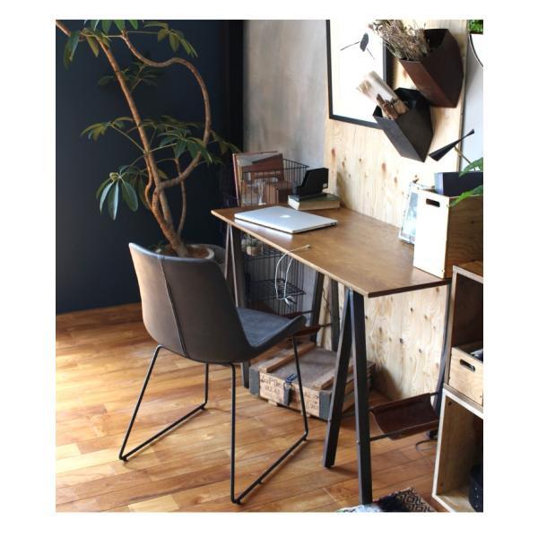 デスク テーブル 『プロック DIY クラフト アート ダイニングテーブル 1200』 机 パソコンデスク 木製 ダイニングテーブル 1人用 2人用|a-depeche|16