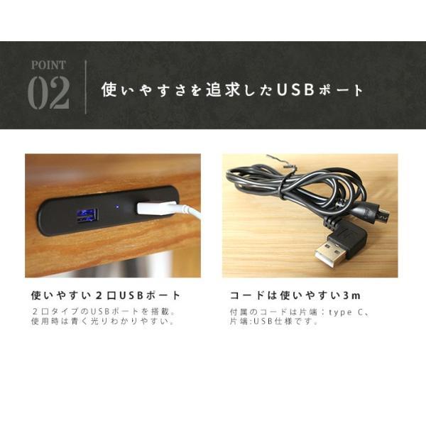 USBポート 『USB ポート-プロック DIY クラフト テーブル用-』 デスクオプション テーブルアクセサリー 机 充電 USBハブ ブラック 黒|a-depeche|04