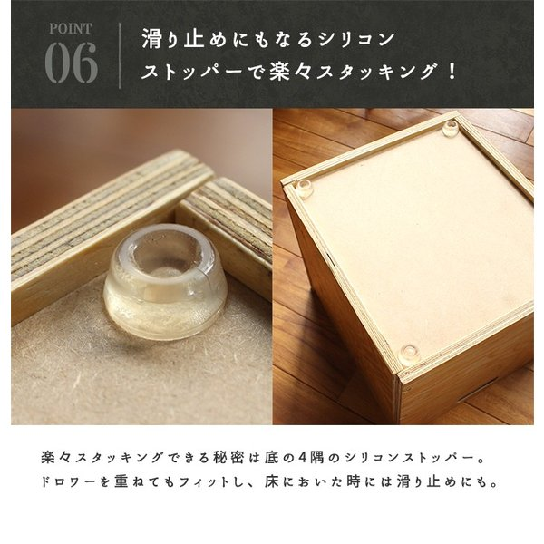 収納 引き出し  『プロック DIY クラフト ワーク ドロワー Sサイズ』箱 収納ボックス ケース おしゃれ 木製 DIY 組み立て 蓋なし  木箱|a-depeche|17