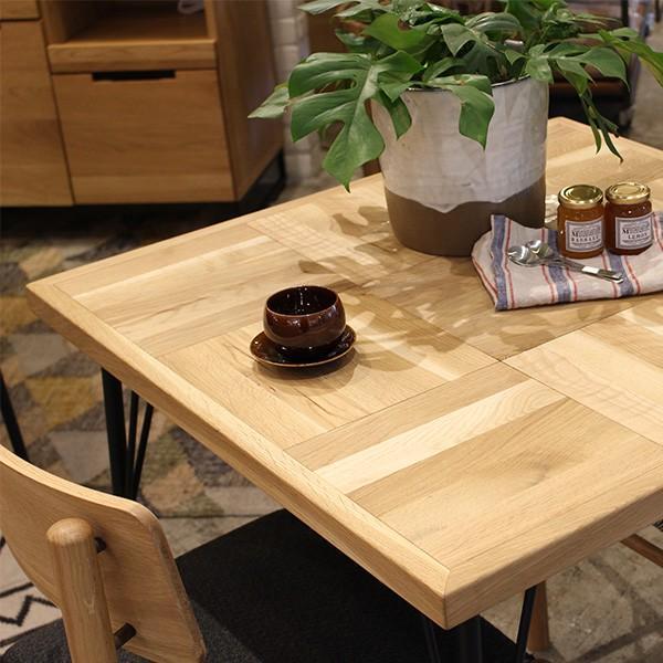 『受注生産』ラムス カフェテーブル 800 RAMS cafe table 800 ナチュラルで表情豊かなテーブル a-depeche 06