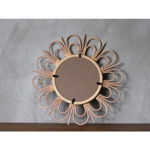 ロッタ ラタン ミラー フルール L rotta rattan mirror fleur L|a-depeche|04