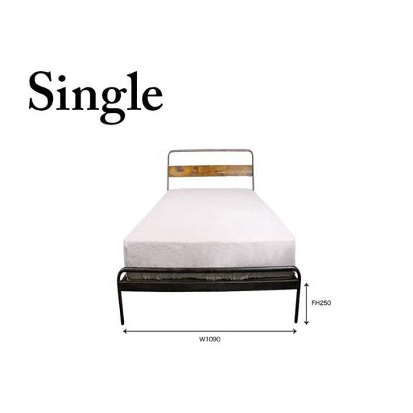 socph bed 『single』 ソコフ ベッド 『シングル』 かっこいいインテリアに加えたいヴィンテージスタイルのベッド|a-depeche