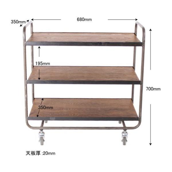 socph kitchen wagon ソコフ キッチン ワゴン 送料無料|a-depeche|02
