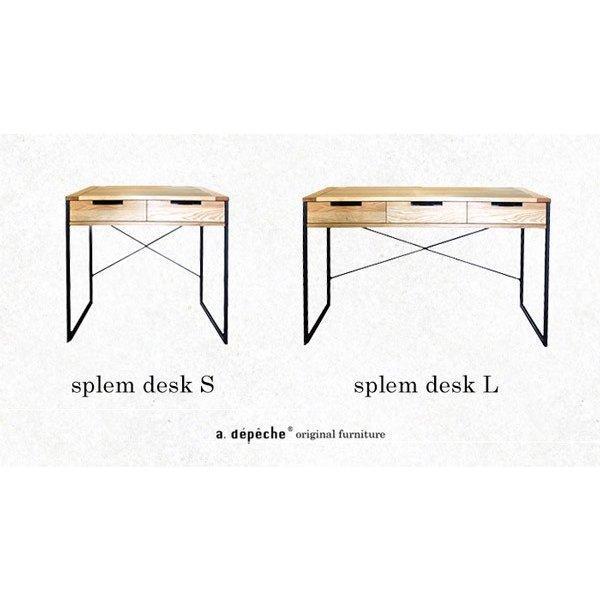 [セール]スプレムデスク L splem desk L a-depeche 04